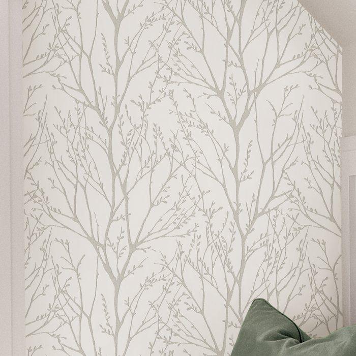 Treetops Peel And Stick 18 X 20 5 Wallpaper Roll Wallpaper Roll Peal And Stick Wallpaper Peel And Stick Wallpaper