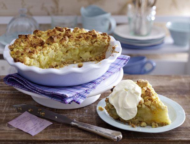 Unser beliebtes Rezept für Apple-Walnut-Pie und mehr als 55.000 weitere kostenlose Rezepte auf LECKER.de.