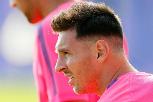 "The Legend Lionel Messi: Messi happy to the return of ""grandson"""