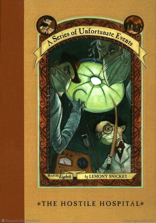 Browse Inside A Series of Unfortunate Events #8: The Hostile Hospital by Lemony Snicket, Illustrated by Brett Helquist, Michael Kupperman