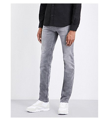 STONE ISLAND Skinny-Fit Mid-Rise Jeans. #stoneisland #cloth #jeans