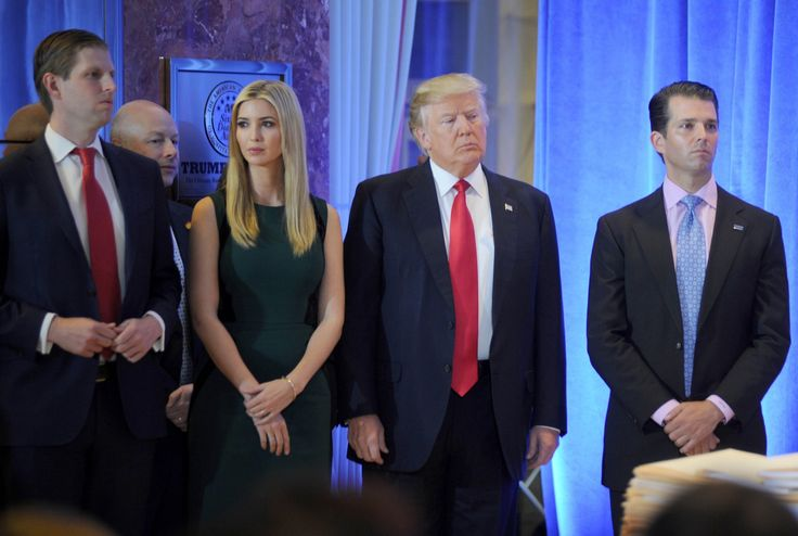 Donald Jr. admits there is no barrier between President Trump and his businesses - Trump's sons are supposed to keep him away from his businesses. But according to them, they talk frequently.