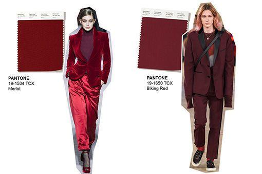Trendfarben Herbst Winter 2021/21