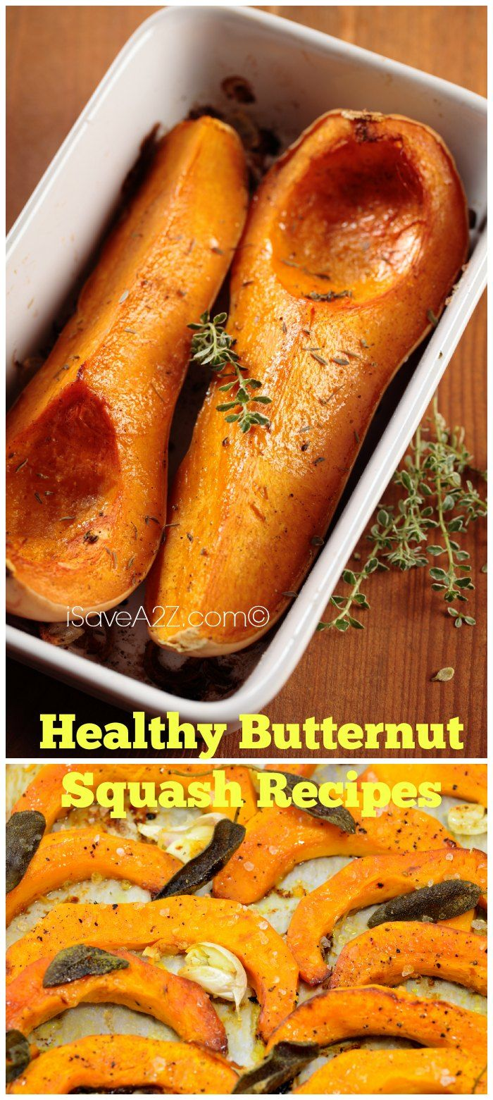 Healthy Butternut Squash Recipes! As long as you have amazing seasonings with a bit of olive oil you are good to go!