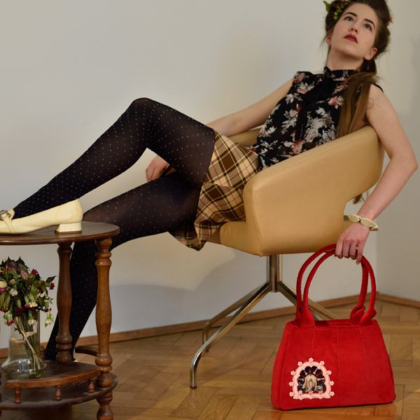 #fashion #womenswear #handbags #art Vita Occulta is a new fashion brand, which offers handmade handbags, stylish and original, based on the timeless design of the sixties and accompanied by original motifs.  Vita Ocuculta – it's a Secret Life inside your bag.