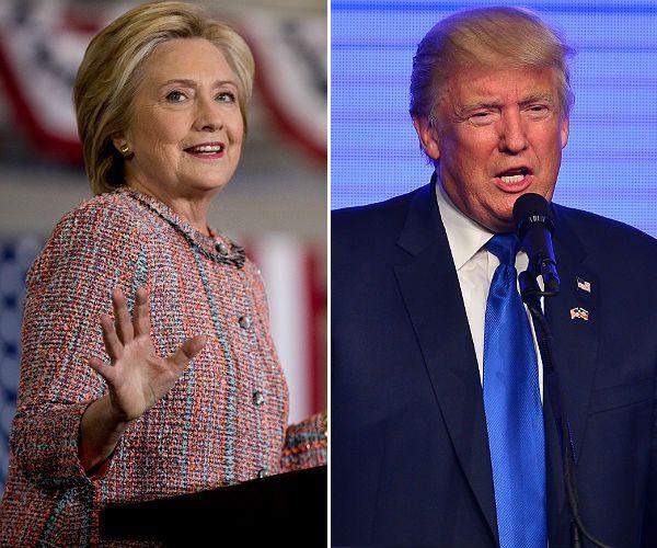 Image: Rasmussen: Trump Tied With Clinton