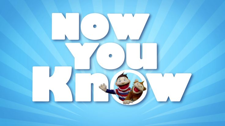 Now You Know premieres September 2015 on TVOKids!