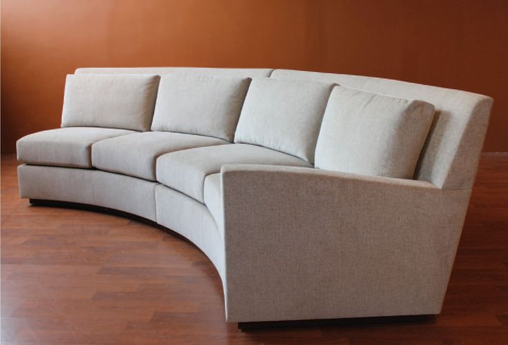 Curved Sectional Sofa Remarkable Semi Tufted Circular Couch Images Concept