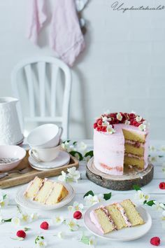 un pedacito de cielo: Tarta limonada rosa