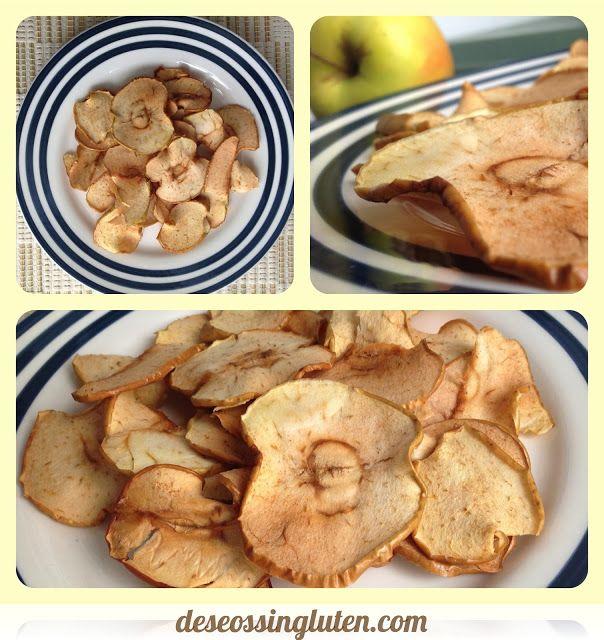 Deseos Sin Gluten: CHIPS DE MANZANA SIN GLUTEN