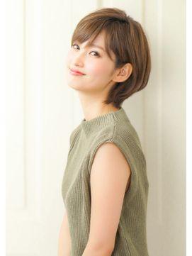 『Rue:京都』大人可愛い☆褒められショート - 24時間いつでもWEB予約OK!ヘアスタイル10万点以上掲載!お気に入りの髪型、人気のヘアスタイルを探すならKirei Style[キレイスタイル]で。