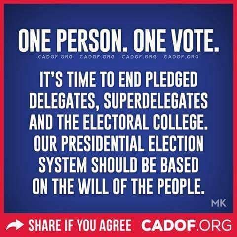 Yes! It's time for America to become a direct democracy.