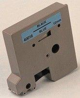CINTA DYMO 4000 12 mm. AZUL SOBRE TRANSPARENTE. Cinta para Dymo 4000 de 12 mm. de ancho y 7,7 metros.