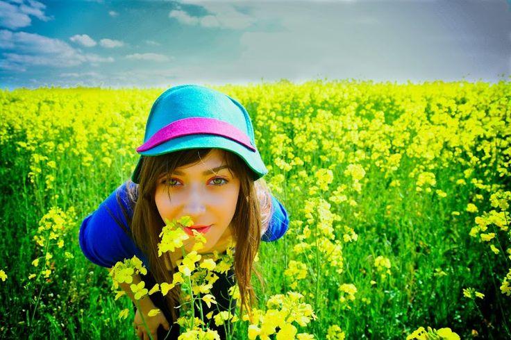 # equistrian felt hat # green felt hat # green & fucshia felt hat# women felt hat