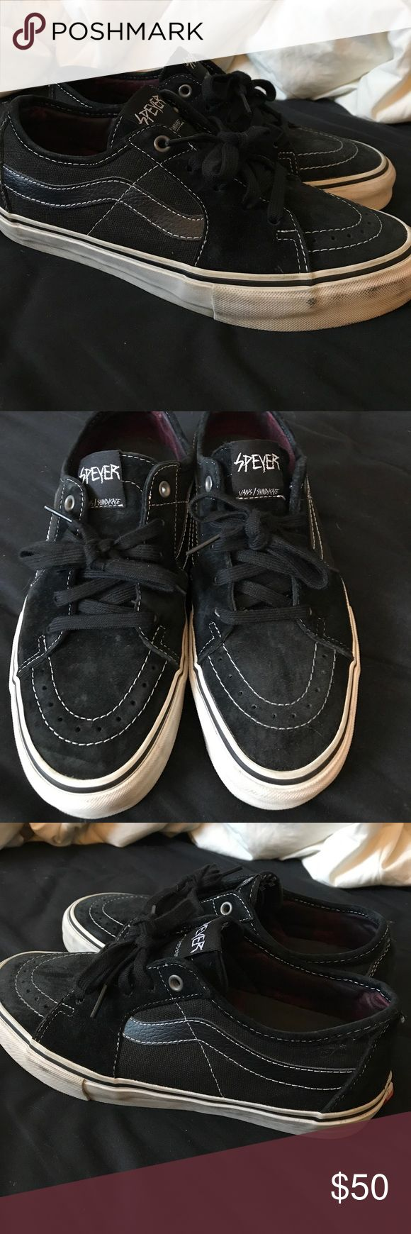 Vans Syndicate Sk8 Low Wade Speyer Wade Speyer Vans Syndicate. Not available anymore. Worn just a few times. Vans Shoes Athletic Shoes