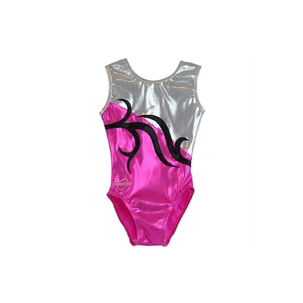 Obersee Kids Gymnastics Leotard - Carrie Pink ($54) ❤ liked on Polyvore featuring gymnast and sport
