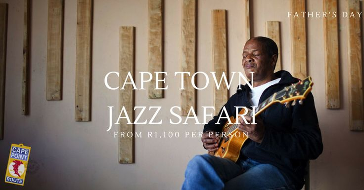 Cape Town Jazz Safari: Cape Town is an incredibly musical city and if your dad appreciates a deep and intimate experience – full of music, engagement and fun – he will enjoy travelling to the homes of local jazz musicians for dinner, with music and conversation. The second part of the tour is a visit either to the home of a second musician for a nightcap, or to a jazz venue for the late set.