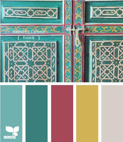 embellished hues