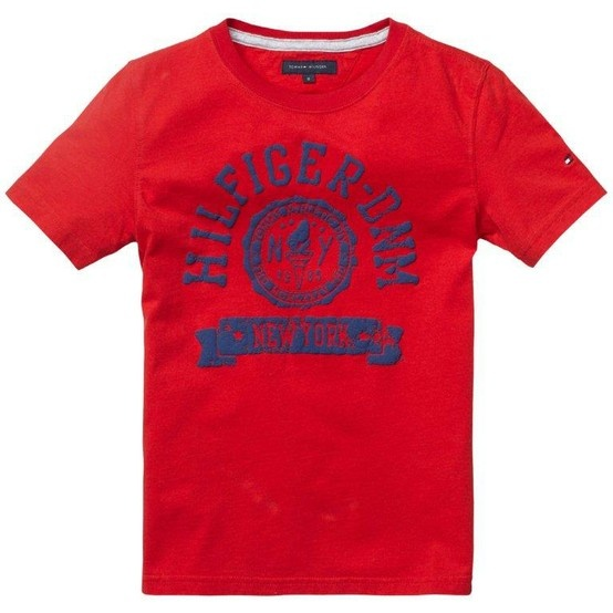 Get the attention you deserve with this eye-catching new T from Tommy Hilfiger - available at Woodys!