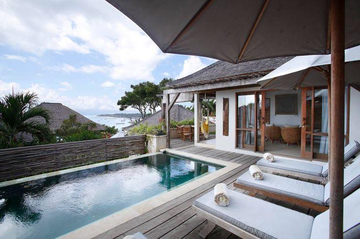 Villa Kundalini   2 bedrooms   Nusa Lembongan, Bali #swimmingpool #villa #bali #nusalembongan #ocean #mountain #view