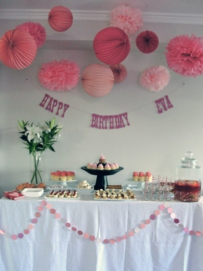 another pink birthday idea