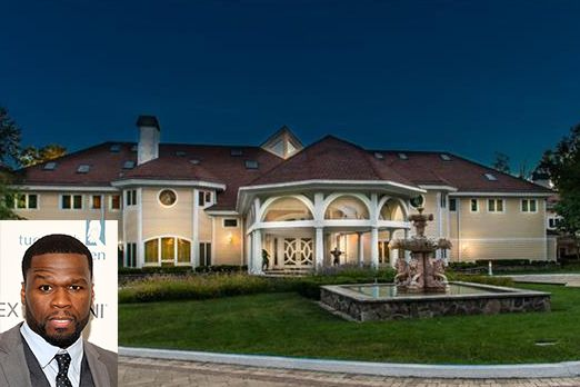 50 Cent's house in CT wont sell after 8 years.