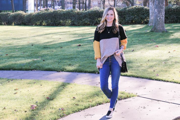 Sharing my OBSESSION with a good color block sweater with you all on the blog today! I think they are just such a versatile piece that can be worn from winter into spring, and will make the perfect addition to your wardrobe! I've picked out a few of my favorites for you here...plus I'm sharing why I DON'T like neon!