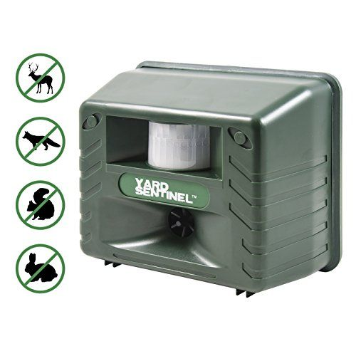 Pest Repellents - Yard Sentinel Outdoor Electronic Pest Animal Ultrasonic Repeller Animal Control Pest Control Cat Repellent Dog Repellent Deer Repellent Mice Repellent Bird Repellent *** More info could be found at the image url.