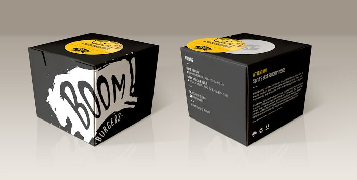 Boom! Burger Box on Packaging of the World - Creative Package Design Gallery