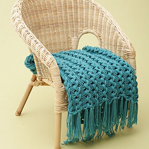 Ravelry: Hairpin Lace Baby Blanket pattern by Bernat Design Studio