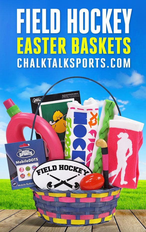 79 best sports easter baskets images on pinterest easter baskets surprise a favorite athlete or runner with a great easter gift such as a pre filled easter basket with hand chosen gifts for various sports and other gifts negle Choice Image