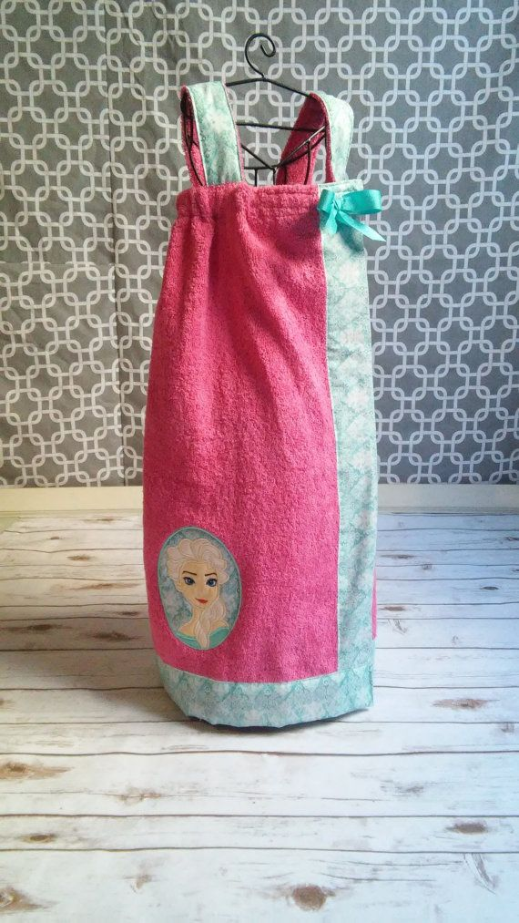 Elsa Spa Wrap by FourLoves on Etsy