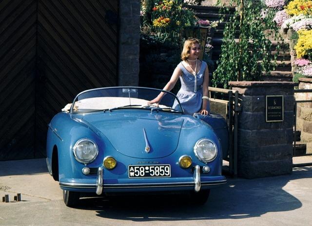 1955 356 speedster reminds me of nancy drew and her blue roadster carlust now full please. Black Bedroom Furniture Sets. Home Design Ideas