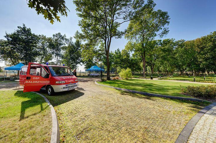 grassed fire route with geoSYSTEM G5 max/ zielona droga pozarowa wzmocniona geoSYSTEM G5 max