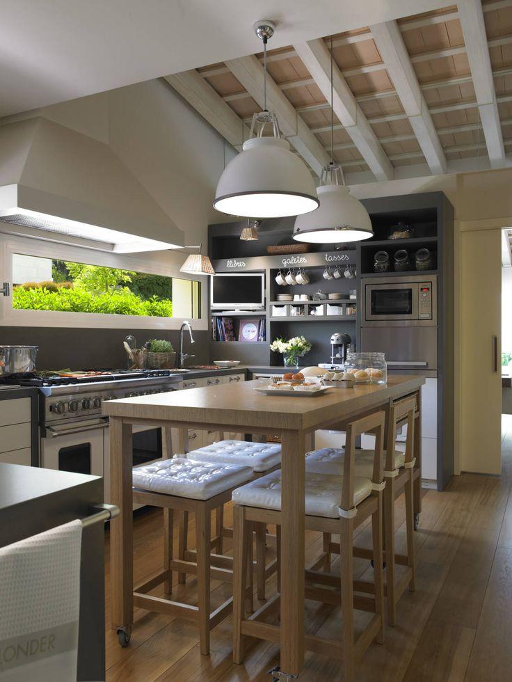 Más de 1000 ideas sobre isla de cocina moderna en pinterest ...