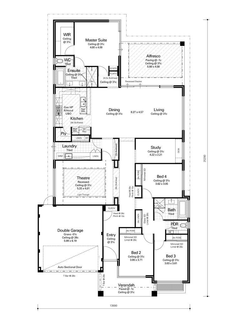 397 best 2016 house plans images on pinterest floor plans House Plans Perth Wa the savannah redink homes house plans perth wa