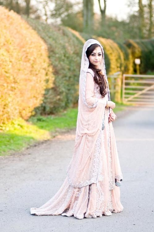 Traditional indian bride wearing bridal lehenga