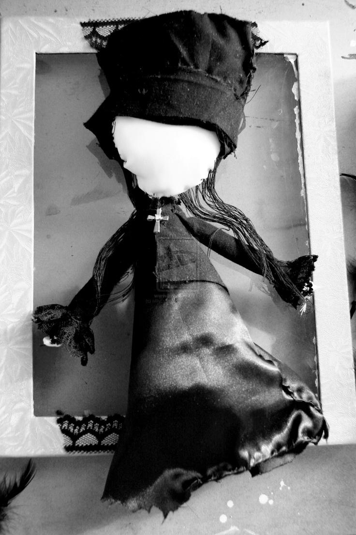 Plush doll Amelie Nothomb by ~MlleLestrange on deviantART