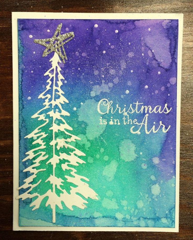 Открытки, нарисовать рождественскую открытку оригинальную