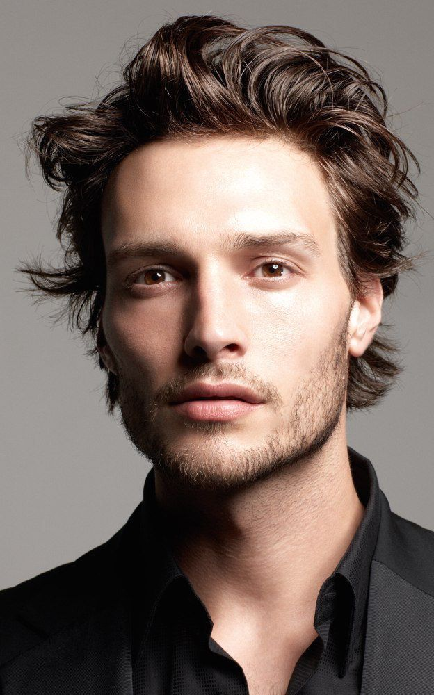 Messy Hair Coiff Men With Images Long Hair Styles Men