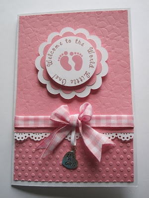 -: Baby Shower Card