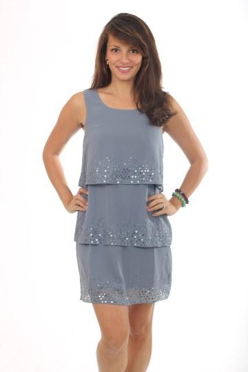 Blue dress d hist capsules