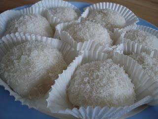 Chinese sticky rice mochi dessert recipe
