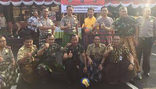 Borbor News: Polresta Depok, TNI dan Camat Tanding Futsal Pakai...