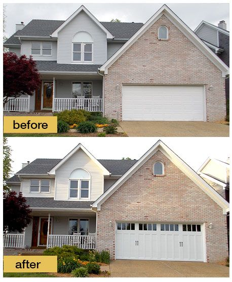 249 best got curb appeal images on pinterest curb for Change the exterior of your house