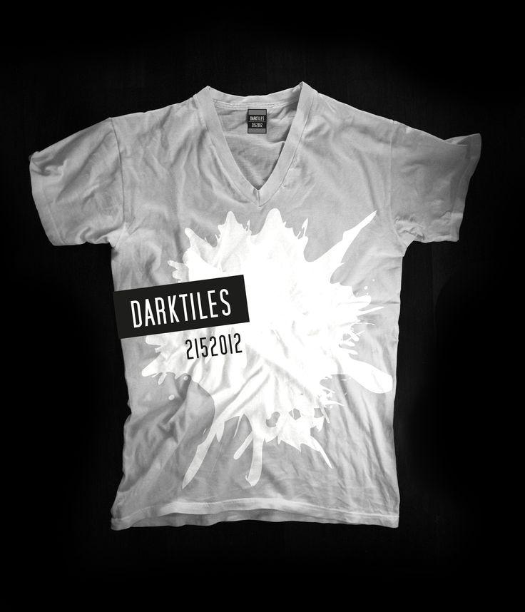 T-shirt collection 2015 Designer: Federico Poletti for Dark Tiles #darktiles #design #tshirt #art #federicopoletti