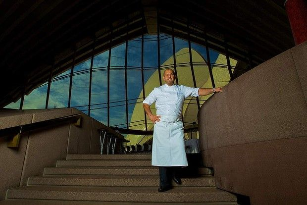 Farewelling the Opera House on a high note ... Guillaume Brahimi's restaurant regains its three hat status. Plus, he receives the Vittoria Coffee Legend Award.