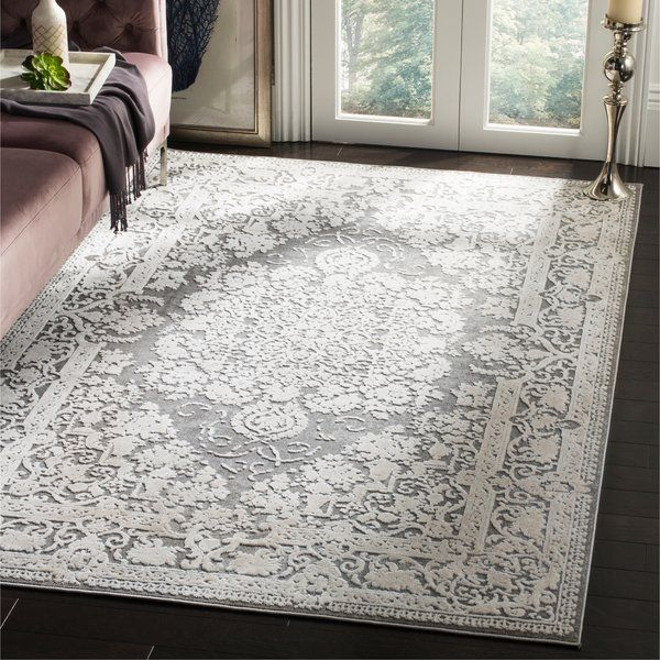 Pellot Power Loom Dark Gray Cream Rug Traditional Area Rugs Grey And Cream Rug Area Rugs
