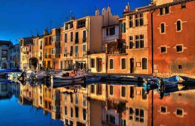 La ville de Martigues|
