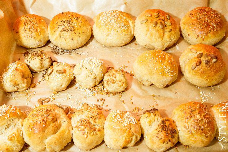 Pieczemy bułeczki z dziećmi #przepis #kuchnia #buleczki #bulki #pieczywo #superstyler
